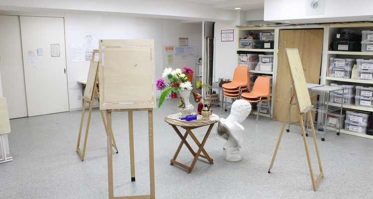 楽 絵画教室の写真