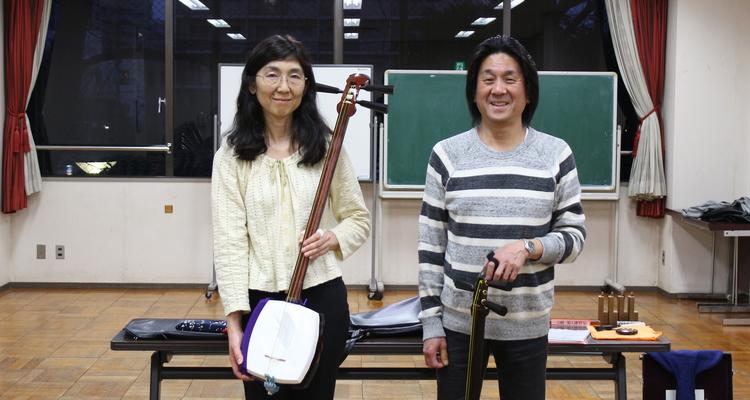 津軽三味線 澤田勝紀 品川教室の写真