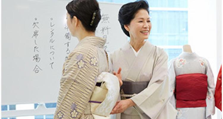 京都きもの学院 姫路教室の写真7
