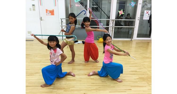 MAZAKI Bellydance School キッズベリーダンス明石の写真